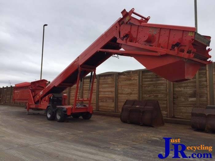 Finlay HiWay Hydrascreen Mobile Screen