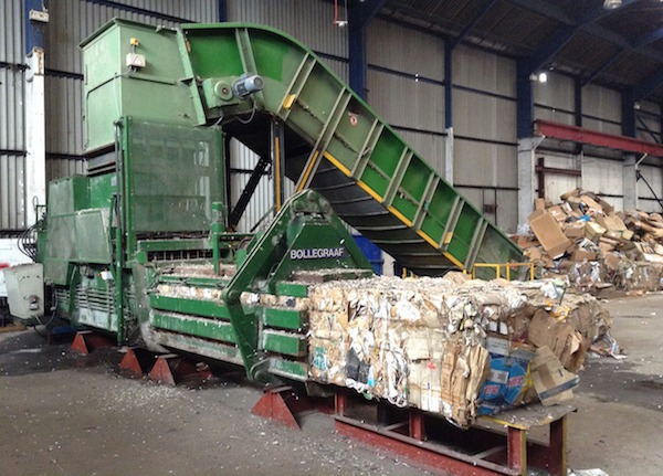X Bollegraaf Hbc40 Waste Baler Just Recycling