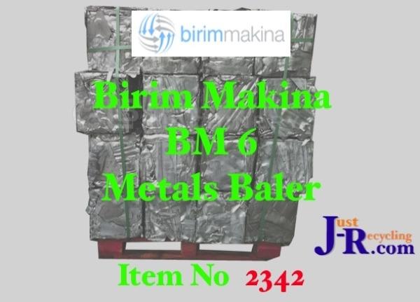 BIRIM MAKINA BM6 METALS BALER
