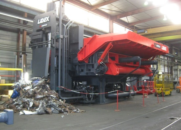 COPEX 800T LIDEX SHEAR BALER
