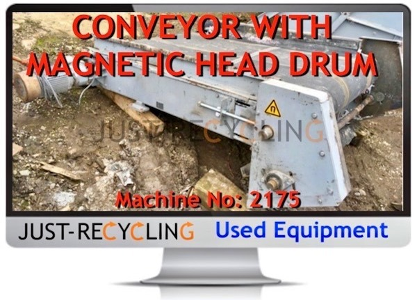 Z CONVEYOR WITH MAGNET DRUM
