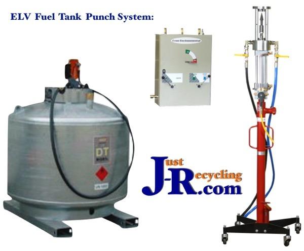 ELV Fuel Drainage Equipment