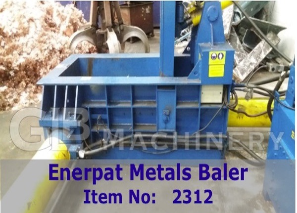 ENERPAT 3 STAGE METALS BALER