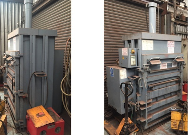HSM 500 VERTICAL WASTE BALER