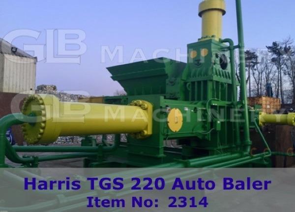 HARRIS TGS220 BALER