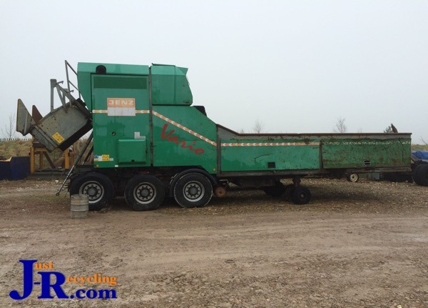 JENZ AZ65 Mobile Shredder