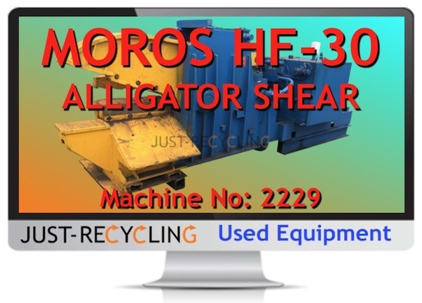 Z MOROS HF30 ALLIGATOR SHEAR