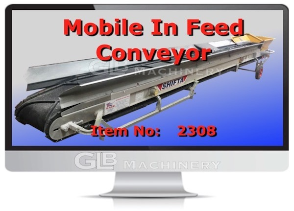 MOBILE IN FEED CONVEYOR