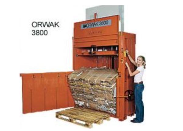 Z ORWAK 3800 WASTE BALER