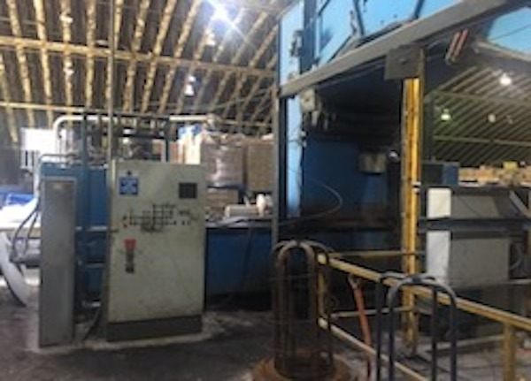 PAAL 6540 AUTOMATIC WASTE BALER