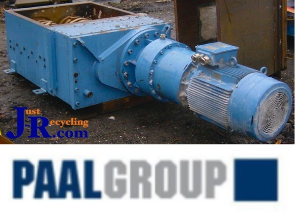 PAAL TWIN SHAFT SHREDDER