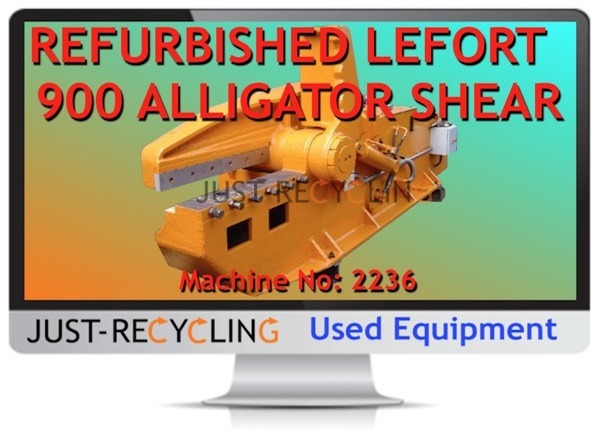 LEFORT 900 ALLIGATOR SHEAR