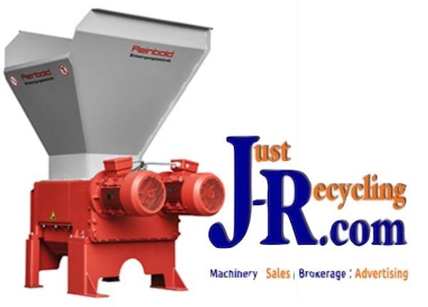 Reinbold RMZ1000 4 Shaft Waste Shredder