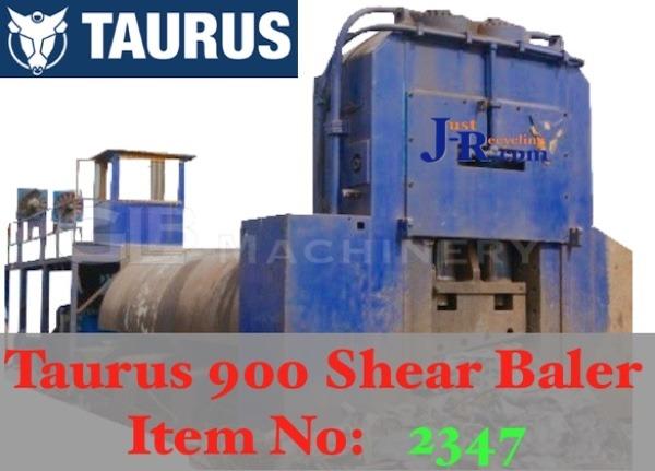 TAURUS 900 SHEAR BALER