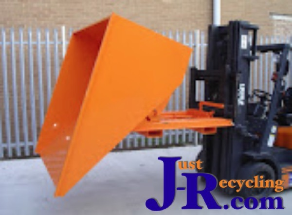 Fork Truck Tipping Skips