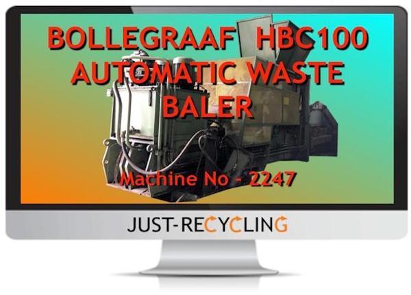 BOLLEGRAAF HBC100 WASTE BALER
