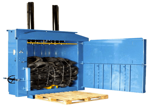 500 Heavy Duty Vertical Waste Baler