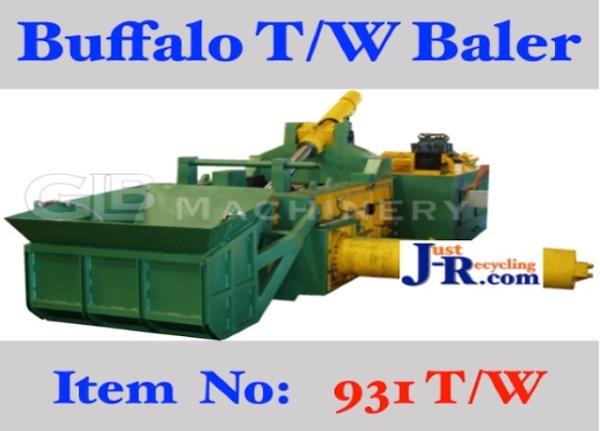 Buffalo Automatic Tyre Wire Baler