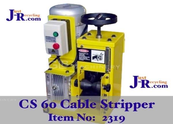 CS60 Scrap Electric Cable Stripper