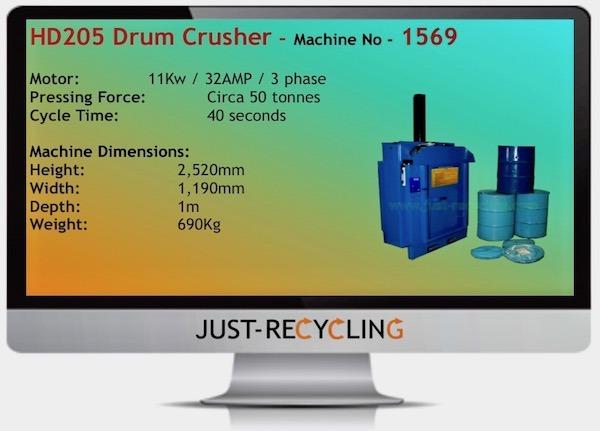 HD 205 DRUM CRUSHER