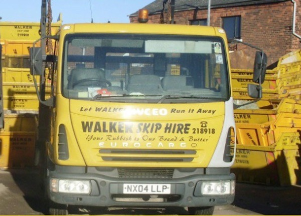Walkers Skip Hire Hull on Just-Recycling