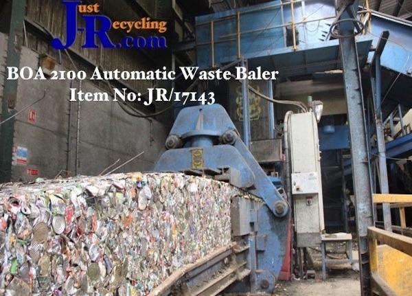 BOA 2100 Horizontal Waste Baler