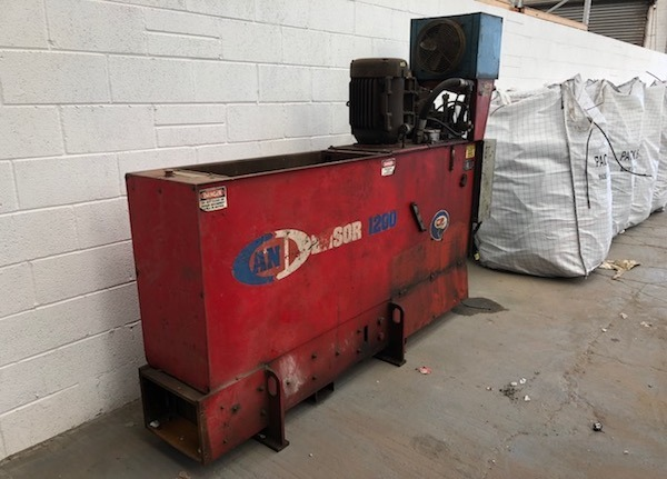 CP 1200 Tin Can UBC Baler