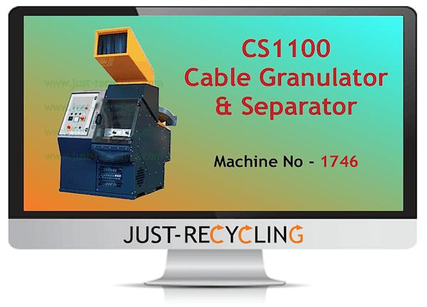 CS1100 Cable Granulator & Separator