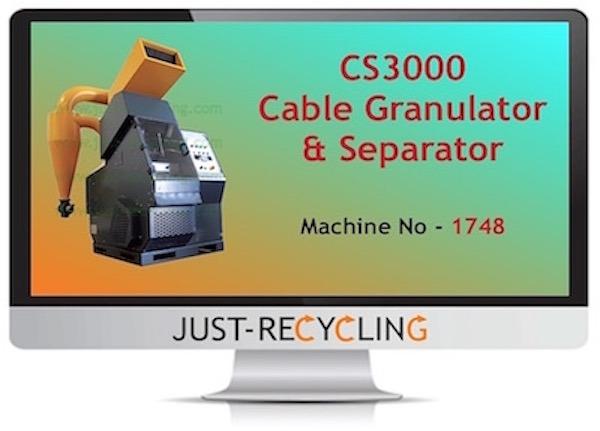 CS3000 Cable Granulator & Separator