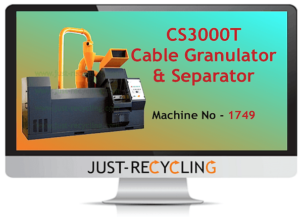 CS3000T Cable Granulator & Separator