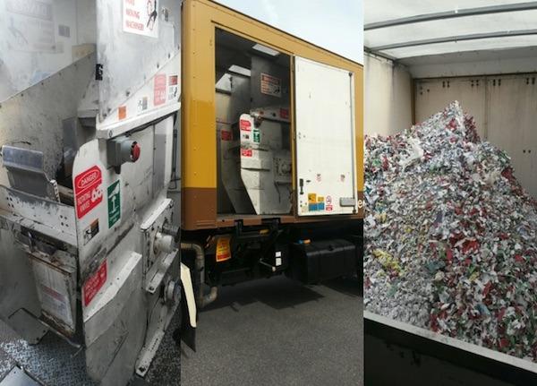 Mobile Confidential Shredder Truck