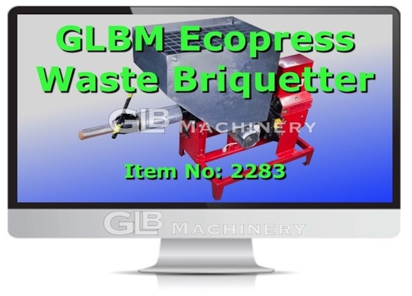 Ecopress Waste Briquetter