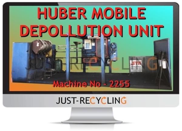 Huber Mobile ELV Depollution Unit