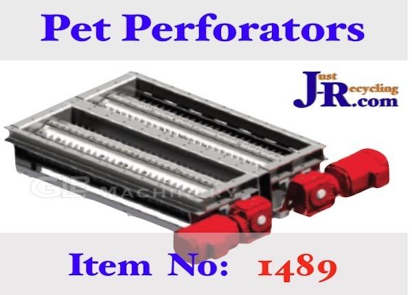 Pet Bottle Perforators