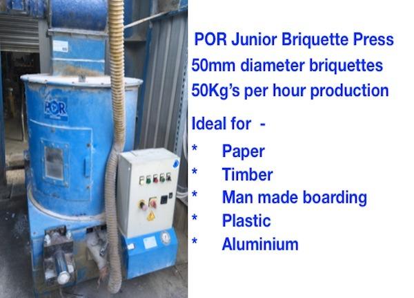 POR Junior Briquette Press