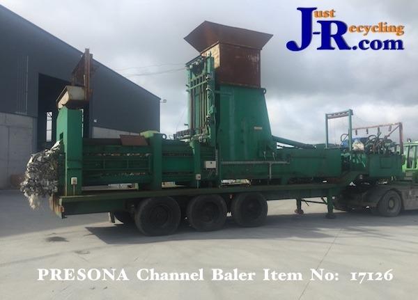 X Presona LP85 Waste Baler