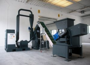 250/350 Cable Granulation System