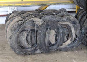 Envirotyre UK Ltd PAS108 Tyre Bales at Just-Recycling
