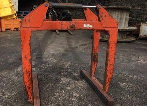 Fielden Hydraulic Bale Block Brick Clamp