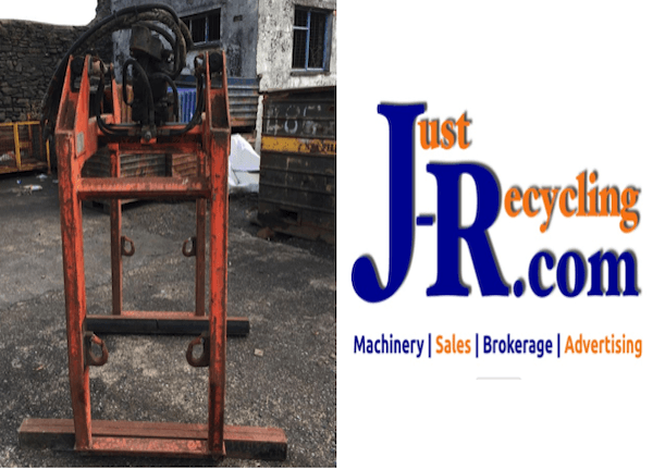 Fielden Hydraulic Bale Block Brick Clamp