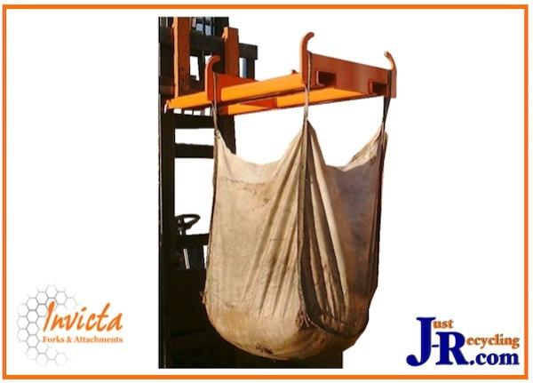 Fork Mounted Bulk Bag Carrier