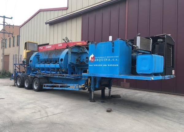 MOROS Mobile Car Baler