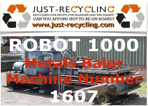 Robot 1000 Metals Baler