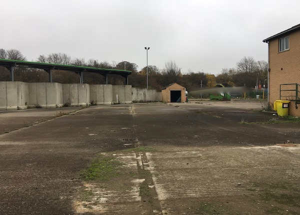 Former Household Waste Recycling Centre