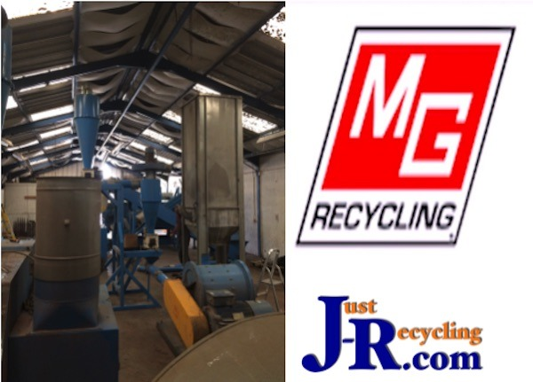 MG Matrix 1000 Cable Granulator Plant