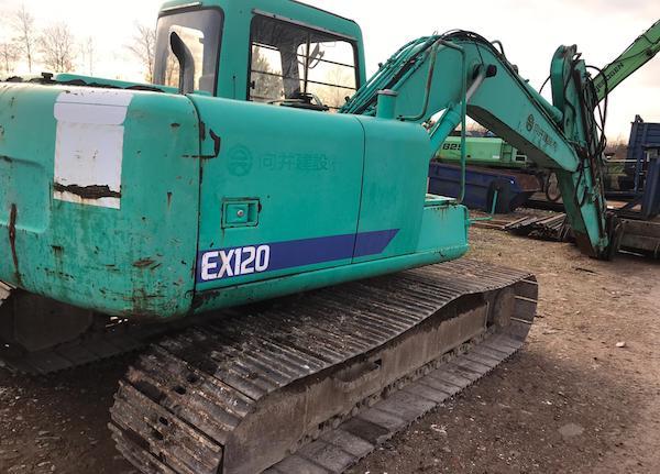 Hitachi 120/3 Excavator