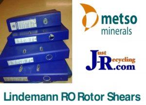 Lindemann Metso RO 25/16 Mobile Shredder